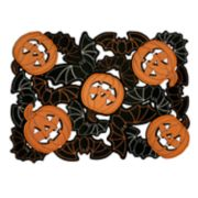Celebrate Halloween Together Bat Cutout Placemat