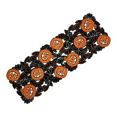 Celebrate Halloween Together Bat Cutout Table Runner - 36'