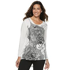 Women's Halloween High-Low Tee