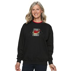Women's Holiday Crewneck Graphic Sweatshirt