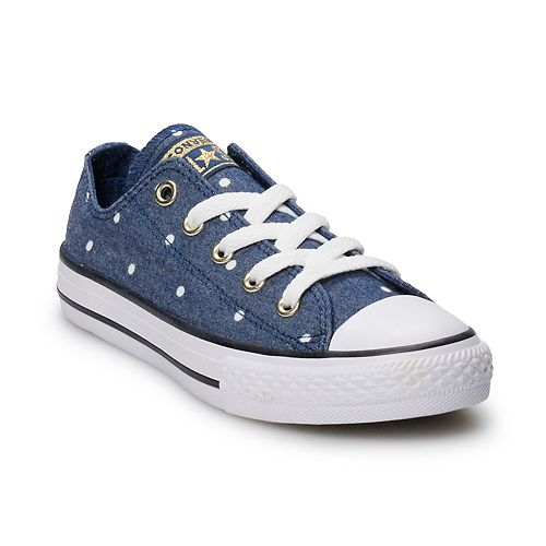 Girls  Converse Chuck Taylor All Star Polka Dot Sneakers f854d69fcfd7