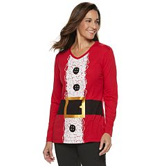 Women's Christmas Graphic Tunic