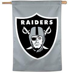 Oakland Raiders Vertical Banner Flag