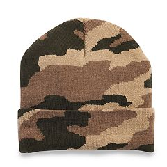 Men's Tek Gear™ WarmTek Camo Cuffed Knit Watch Cap