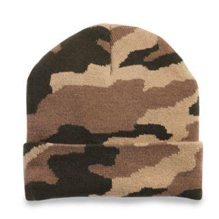 Men's Tek Gear? WarmTek Camo Cuffed Knit Watch Cap
