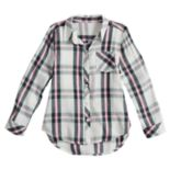 Girls 4-10 Jumping Beans® Plaid Button-Up Shirt