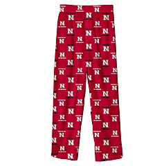Boys 8-20 Nebraska Cornhuskers Lounge Pants