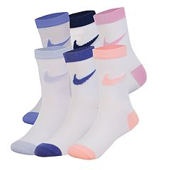 Girls Nike 6-pack Crew Socks