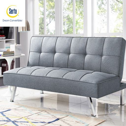 Serta Cory Convertible Futon Sofa Bed