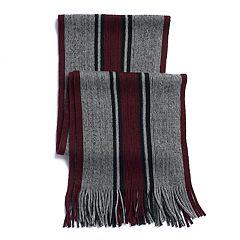 Men's Apt. 9® Striped Raschel Scarf