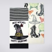 Celebrate Halloween Together Best Witches Kitchen Towel 2-pack