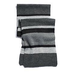 Men's Apt. 9® Striped Knit Scarf