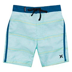 Toddler Boy Hurley Shoreline Striped Board Shorts