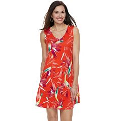 Women's Apt. 9® Strappy V-Neck A-Line Dress