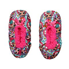 Girls 4-16 L.O.L. Surprise! Fuzzy Babba Slippers