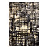 Rizzy Home Xceed Contemporary Abstract Striped Rug