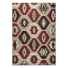 Rizzy Home Xcite Transitional Southwest Tribal Trellis Rug