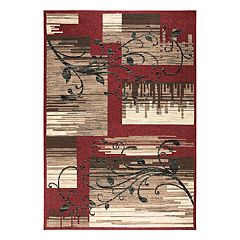 Rizzy Home Xcite Transitional Patchwork I Geometric Rug