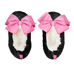 Girls 4-16 JoJo Siwa Bow Fuzzy Babba Slippers