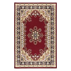 Rizzy Home Xcite Traditional Central Medallion I Geometric Rug