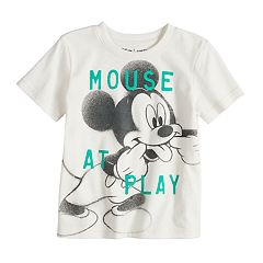 Disney's Mickey Mouse Toddler Boy 'Mouse At Play' Softest Graphic Tee by Jumping Beans®