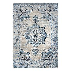 Rizzy Home Encore Traditional Medallion Geometric Rug
