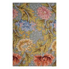 Nourison Fantasy Floral Slate Area Rug
