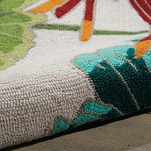 Nourison Fantasy Floral Ivory Area Rug