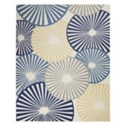 Nourison Grafix Circle Geometric Area Rug