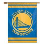 Golden State Warriors Double-Sided Vertical Banner Flag