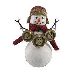 St. Nicholas Square® Light-Up Snowman Christmas Table Decor