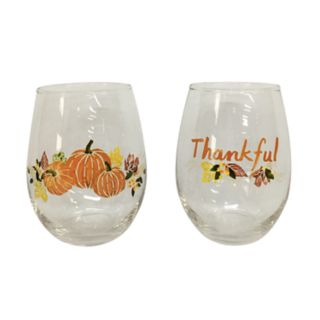 Celebrate Fall Together 2-piece Wine Glass Set
