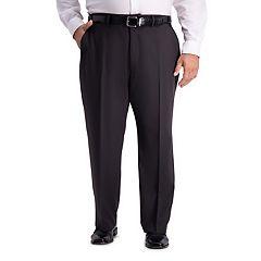 Big & Tall Active Series Classic-Fit Herringbone Suit Pants