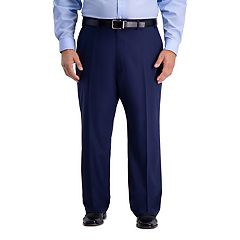 Big & Tall Active Series Classic-Fit Herringbone Suit Pants