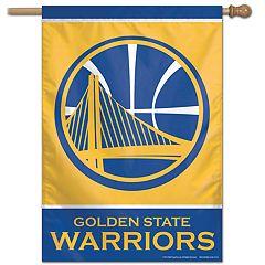 Golden State Warriors Vertical Banner Flag