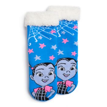 Disney's Vampirina Girls 4-16 Vee Cozy Slipper Socks