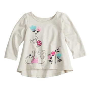 Disney's Winnie the Pooh Baby Girl Shirred-Back Top by Jumping Beans®
