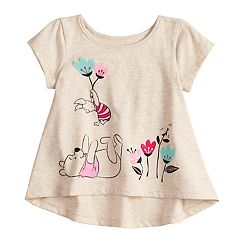 Disney's Winnie the Pooh Baby Girl Shirred-Back Swing Top by Jumping Beans®