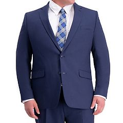 Big & Tall Haggar Travel Performance Classic-Fit Stretch Suit Jacket