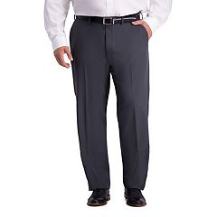 Big & Tall Haggar Travel Performance Classic-Fit Stretch Flat-Front Suit Pants