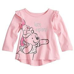 Disney's Winnie the Pooh Baby Girl Ruffle Swing Tunic by Jumping Beans®