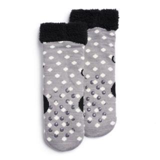 Disney's Minnie Mouse Girls 4-16 Cozy Slipper Socks