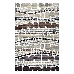 Rizzy Home Xcite Contemporary Abstract Striped Rug