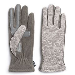 Women's isotoner SmartDRI Stretch Fleece Tech Gloves