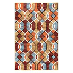 Rizzy Home Xpression Transitional Geometric Rug