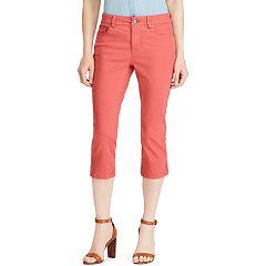 Women's Chaps Twill Capri Pants