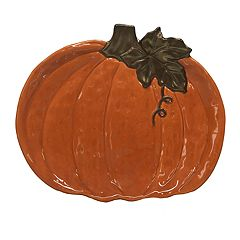 Celebrate Fall Together Pumpkin Serving Platter