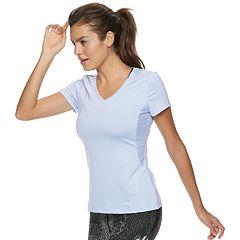 Women's FILA SPORT® Short Sleeve V-Neck Tee