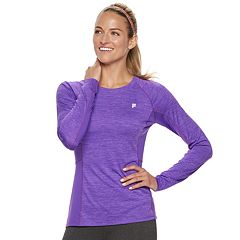 Women's FILA SPORT® Raglan Long Sleeve Tee