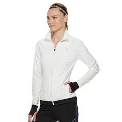 Women's FILA SPORT® Mesh Piecing Thumb Hole Jacket